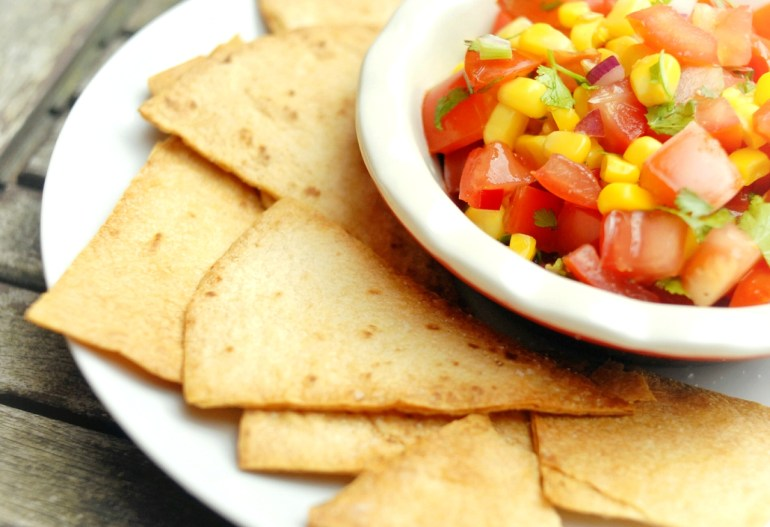 recipe - oven baked tortilla chips