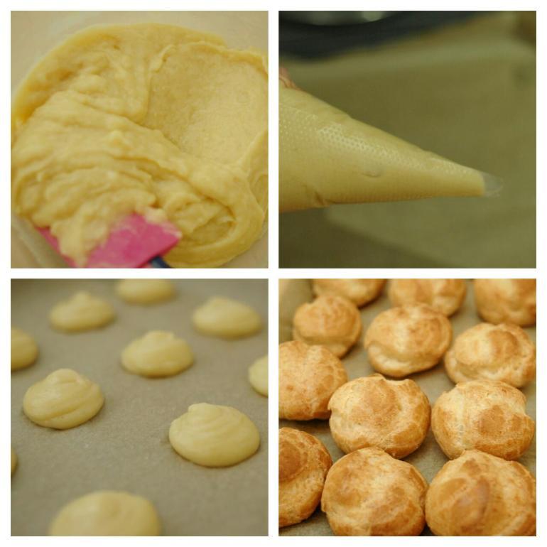 Recipe Blog - French Cream Puffs