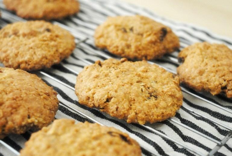Recipe -Oatmeal Raisin Cookies