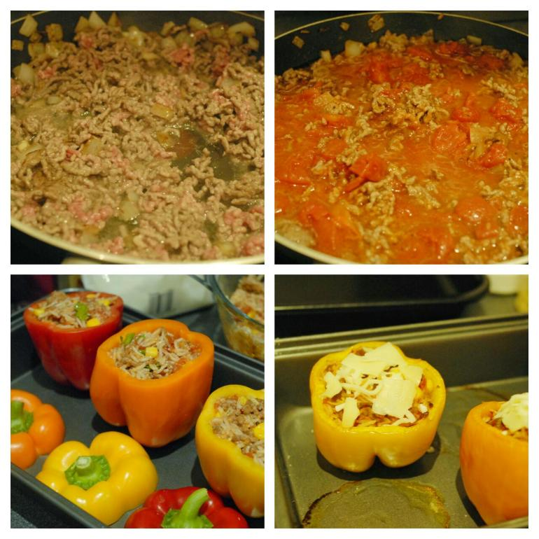 Recipe - Stuffed Bell Peppers