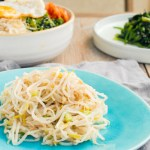 Korean Bean Sprout Side Dish 韓式涼拌芽菜