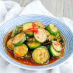 Korean Spicy Cucumber Side Dish 韓式涼拌青瓜