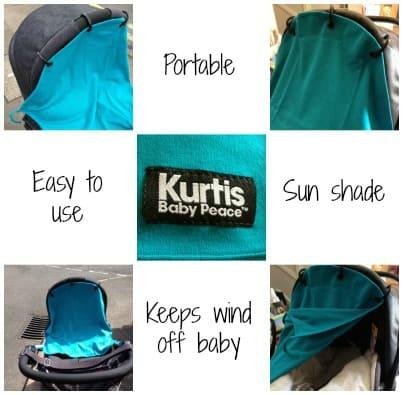 Review: Kurtis Baby Peace Pram Curtain - Life According to MrsShilts