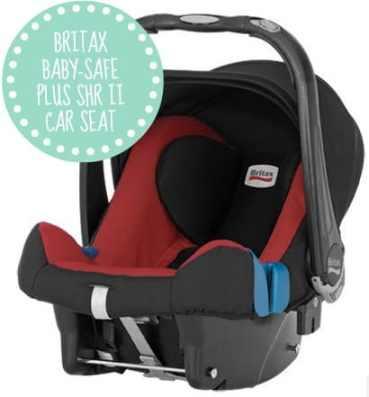 BRITAX BABY-SAFE PLUS SHR II CAR SEAT Britax