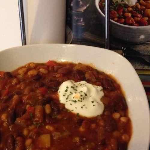 multi-bean chilli