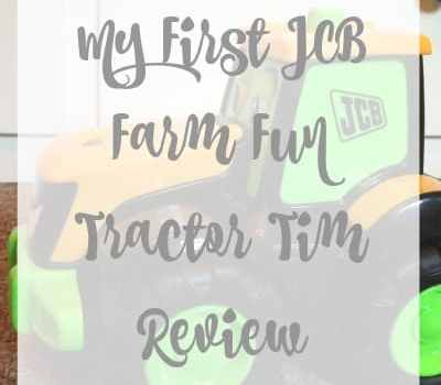 My First JCB Farm Fun Tractor Tim