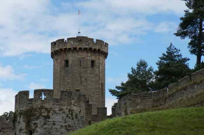 Warwick Castle turrets