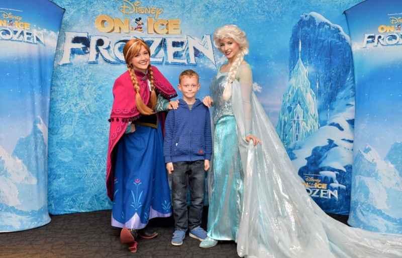 Disney on Ice Frozen Anna Elsa Birmingha,