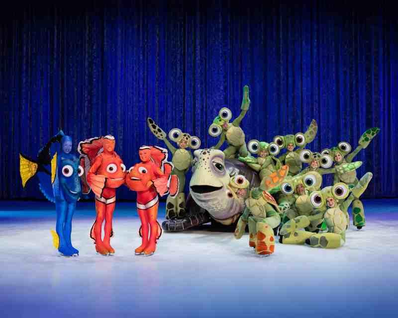 Disney On Ice Finding Nemo Dory