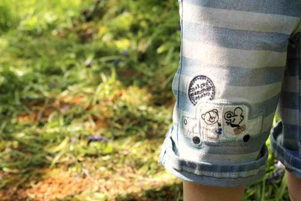 The Essential One Bailey Bear denim shorts