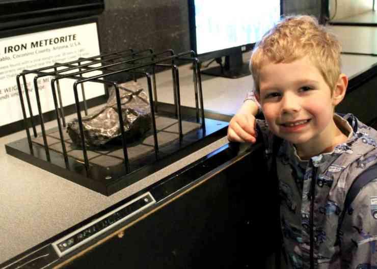 World Museum Liverpool Meteorite