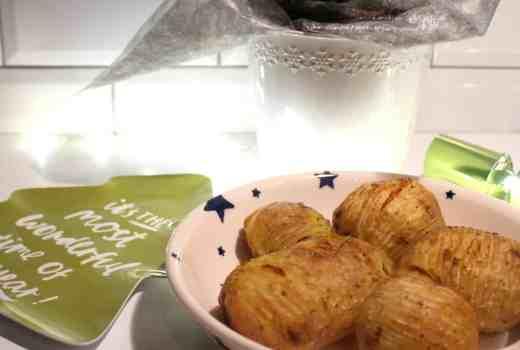 Roasted Hasselback Potatoes