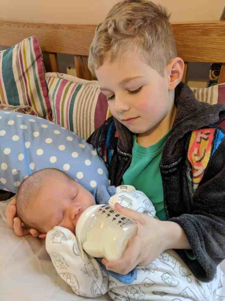Olly and Freddie