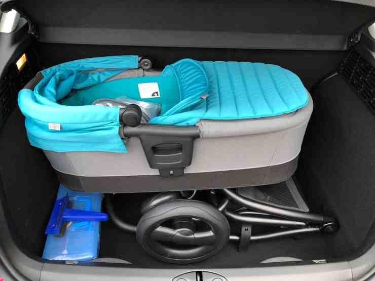 Affinity 2 pushchair travel system carrycot