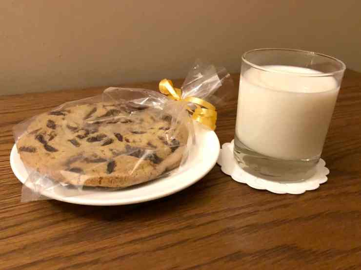 Crewe Hall Cheshire Hotel Mansion qHotel milk and cookies