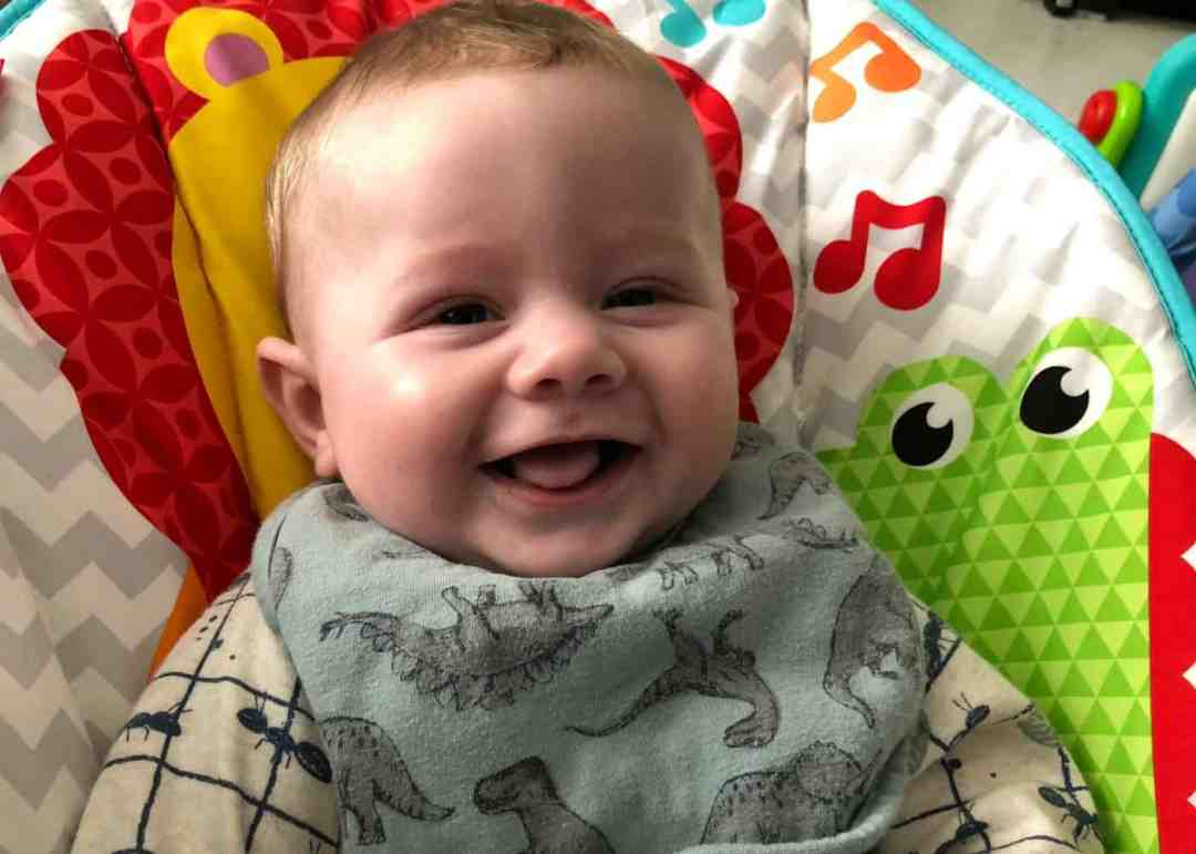Freddie five months old