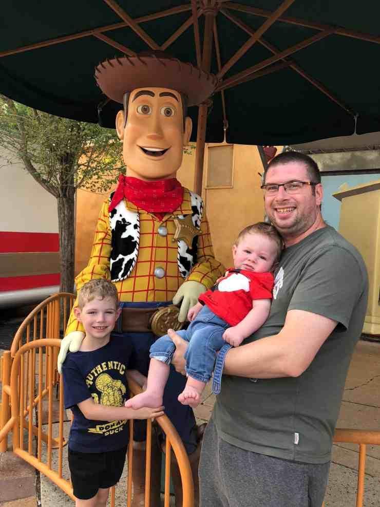 Woody Walt Disney Studios at Disneyland Paris