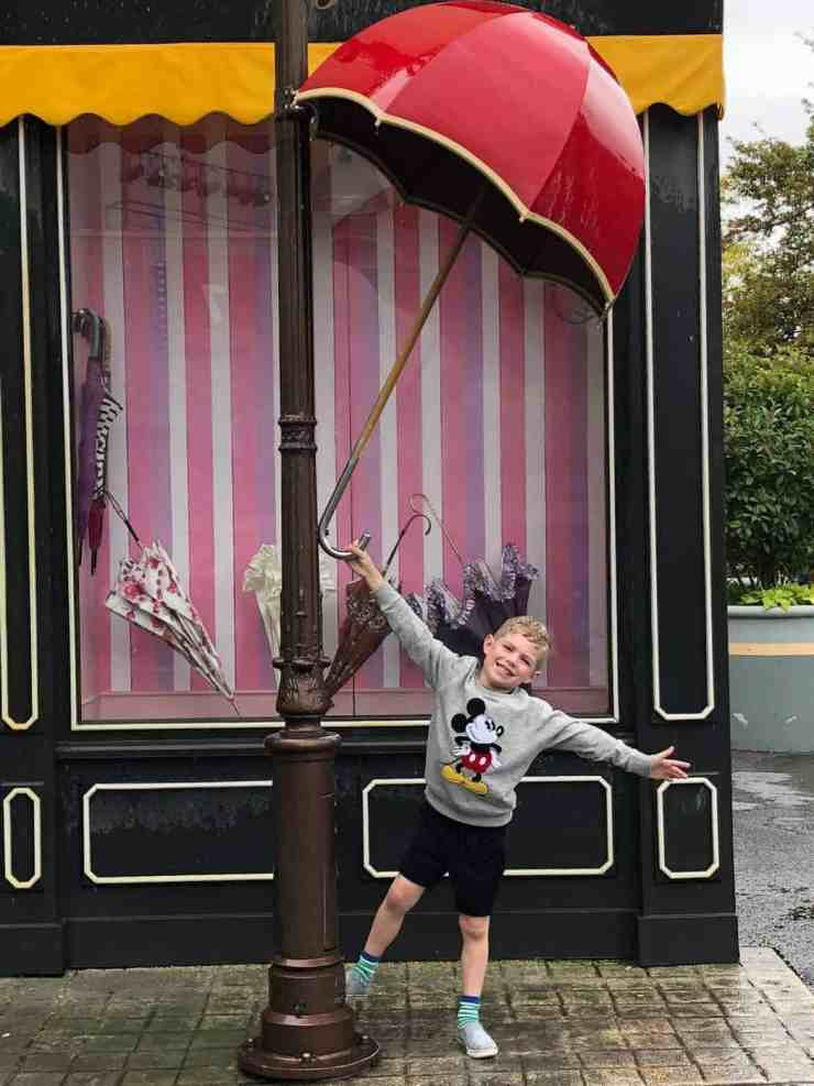 Singing in the rain Walt Disney Studios at Disneyland Paris