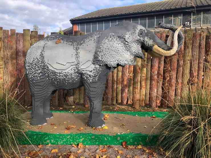 Twycross Zoo Great Brick Safari