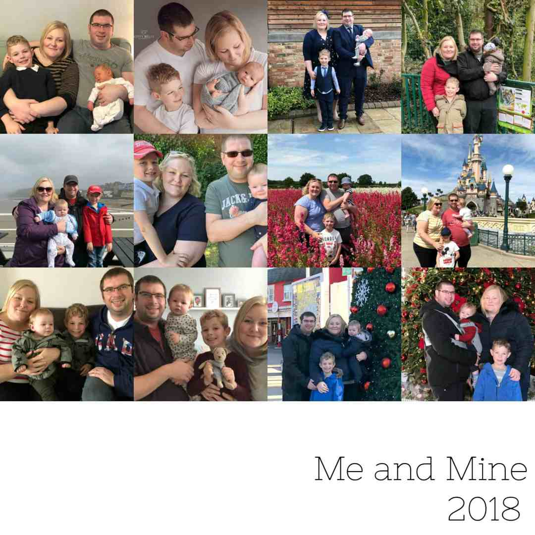 Me and Mine collage 2018