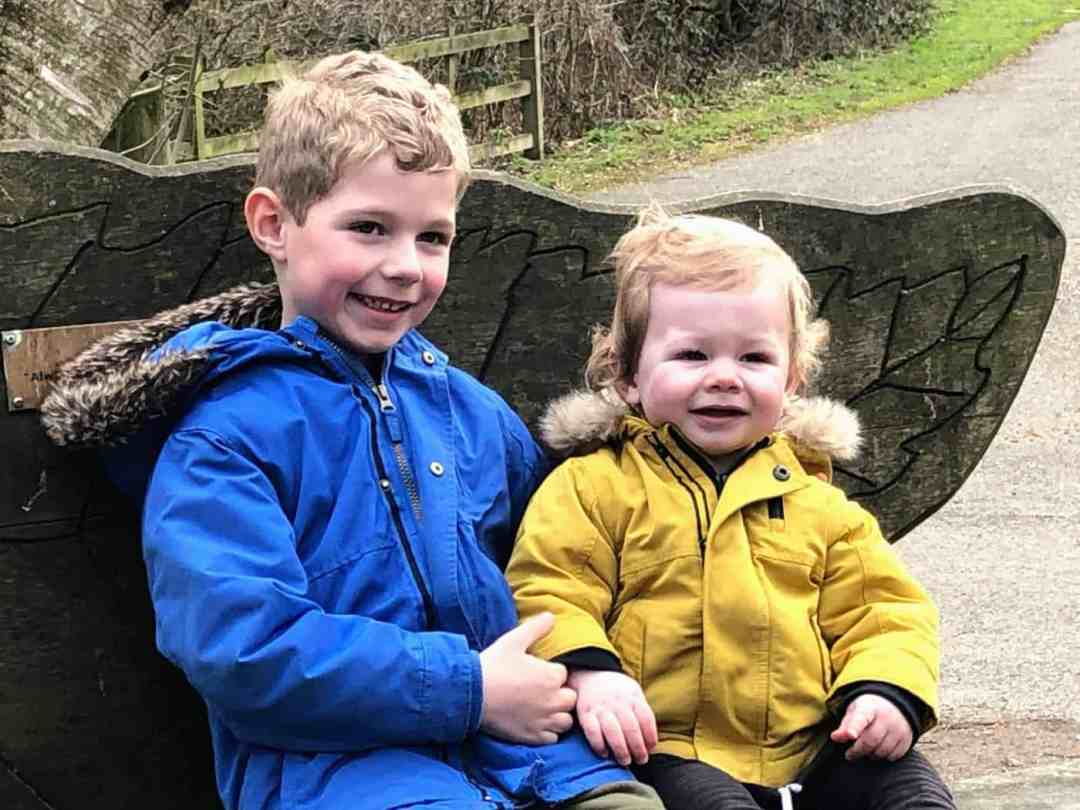 Olly and Freddie February 2019