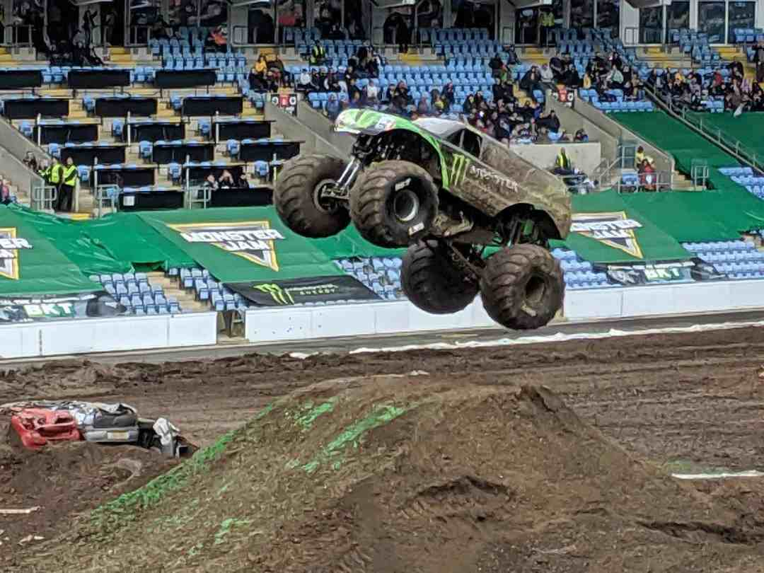 Monster Jam UK Ricoh Arena Coventry