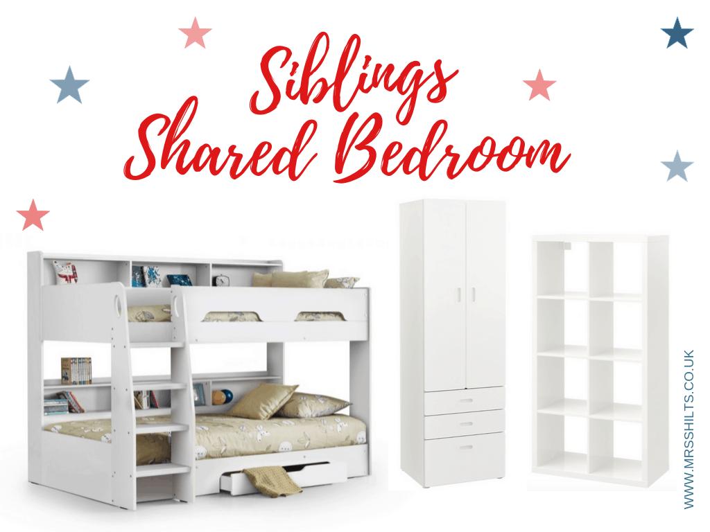 siblings shared bedroom
