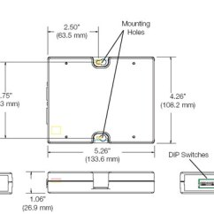 Lutron Grafik Eye 4000 Wiring Diagram Free Diagrams For Dodge Trucks Grx Ci Rs232 Control Interface Dimensions