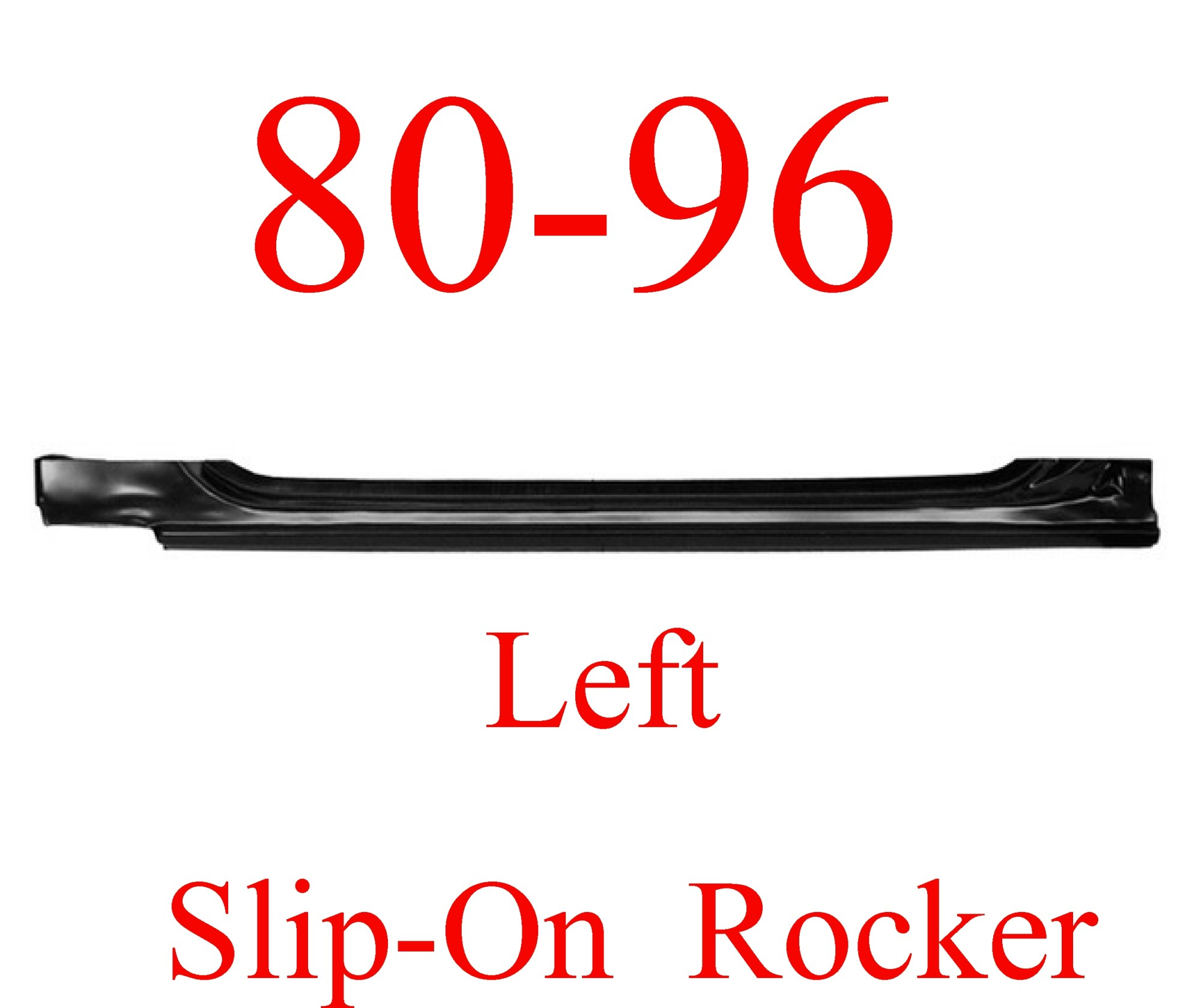 hight resolution of 80 96 left slip on rocker panel ford truck bronco