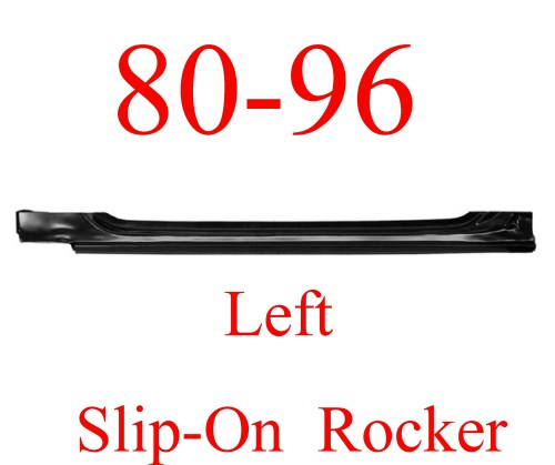 small resolution of 80 96 left slip on rocker panel ford truck bronco