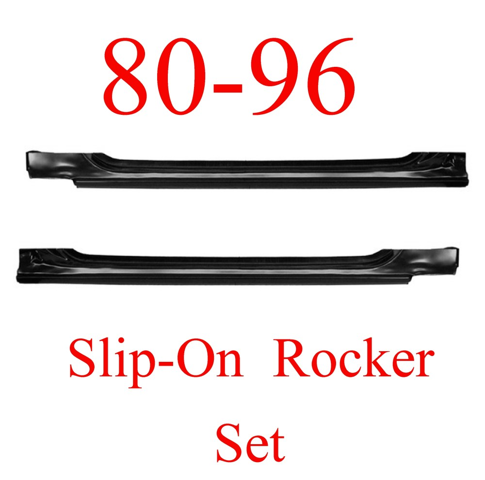 medium resolution of 80 96 ford slip on rocker panel set ford truck bronco