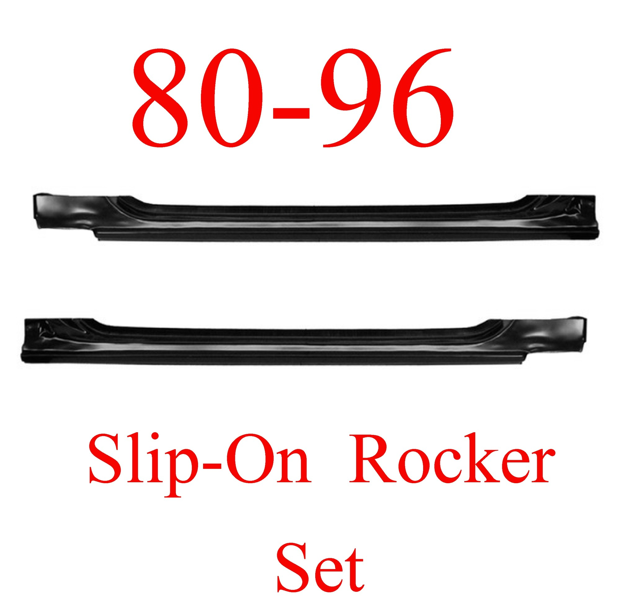 hight resolution of 80 96 ford slip on rocker panel set ford truck bronco