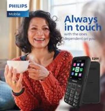 Philips E series feature phones