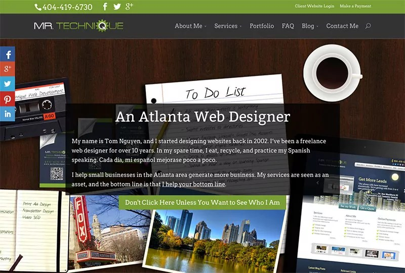 2014 Mr. Technique Web Design