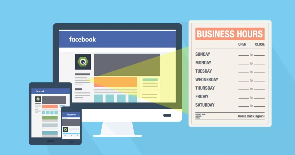 How to Update Hours of Operation on a Facebook Company Page on a Desktop and Mobile Device
