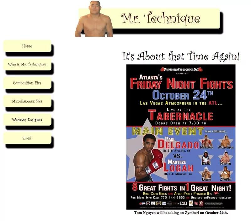 mrtechnique-website-design-december-2003