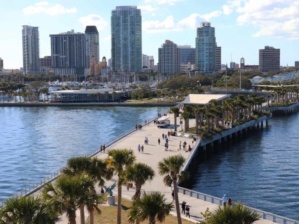 St. Petersburg, FL City View