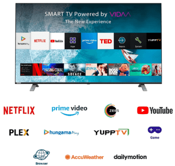 Best 43 inch smart TV in India-Toshiba