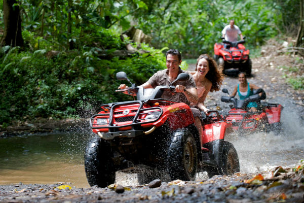 atv four wheeling adventures in Costa Rica