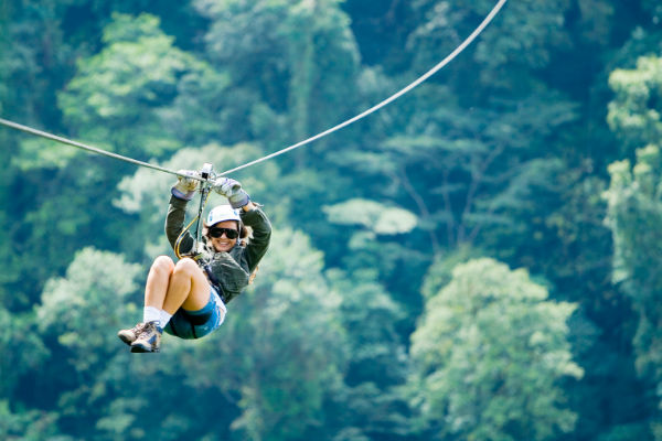 canopy zip lining adventure in costa rica
