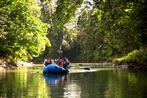 safari floating & wildlife observation in costa rica