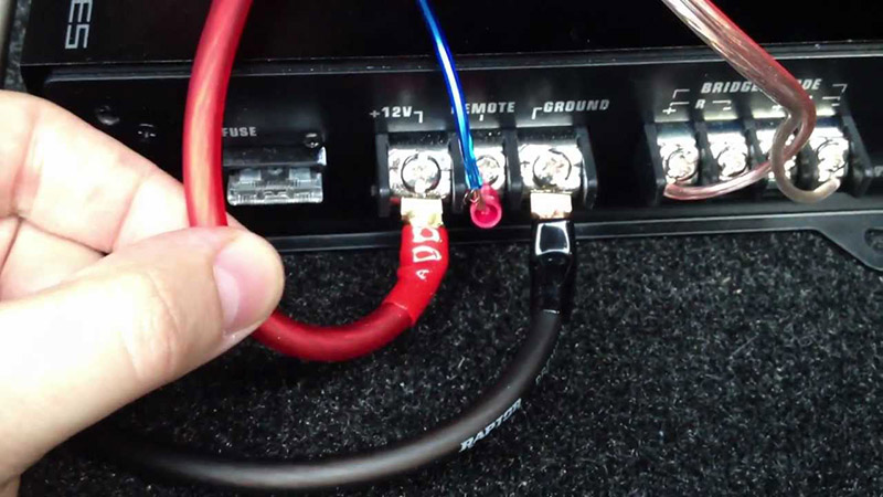 Component Speakers 4 Channel Amp Wiring Diagram How To Wire An Amp Within 10 Minutes Mr Vehicle