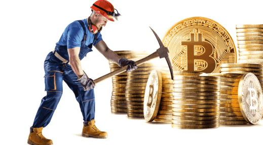 Mining of Cryptocurrency