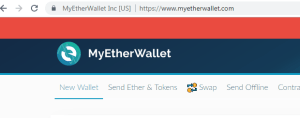 MyEtherWallet Home Page