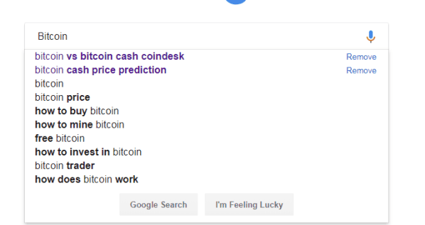 Bitcoin Suggesstions