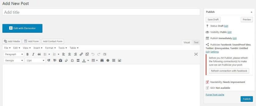 TinyMCE Advnaced Editor