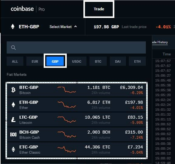 Trading Pairs with GDEX
