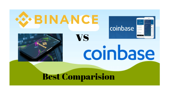Binance vs coinbase best comparision