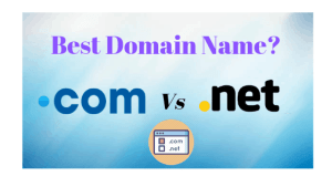 .com vs .net the best domain name.