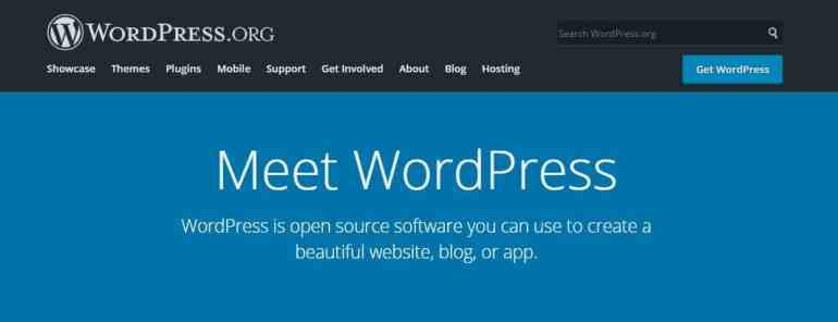 Wordpress.org - Free wordpress